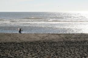 Melissa at the beach