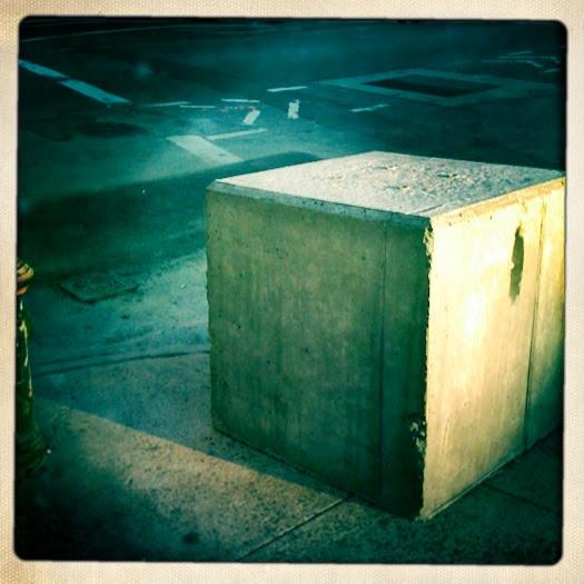 concrete cube