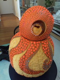 octopumpkin left front