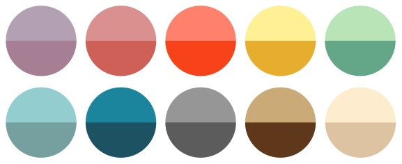 Palette Circles