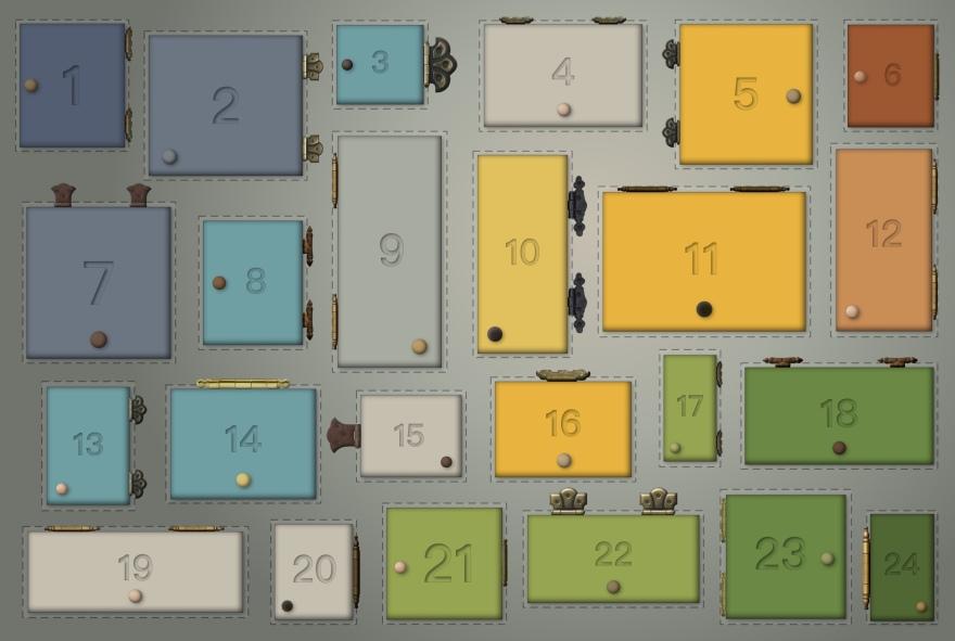 24 Cabinets